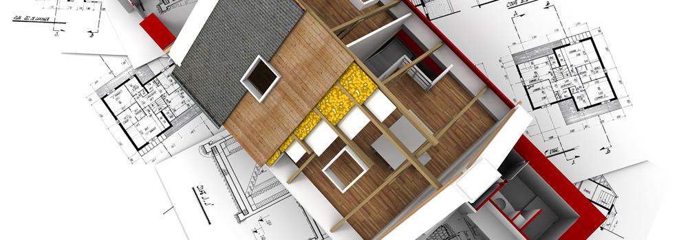 Tilbygning til huset. L&H Tømrerentreprise.